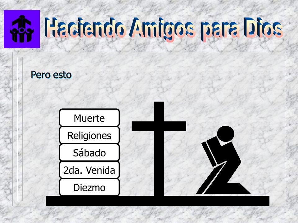 Muerte Religiones Sábado 2da. Venida Diezmo Pero esto