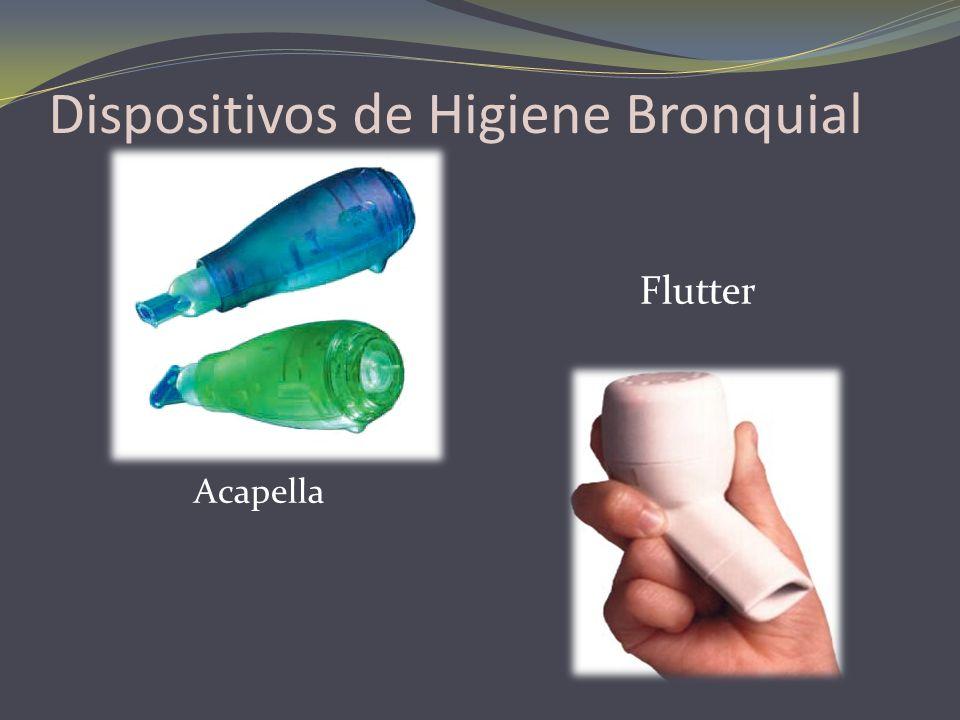 Dispositivos de Higiene Bronquial Acapella Flutter