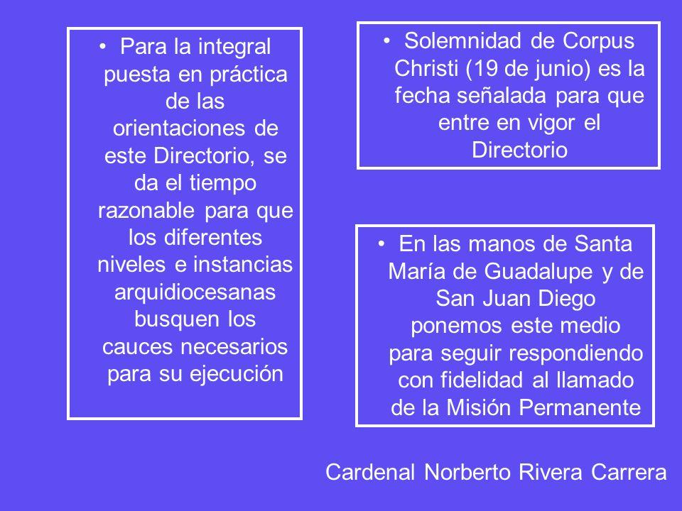 I.La Iniciación Cristiana Esquema General de Contenido: A.