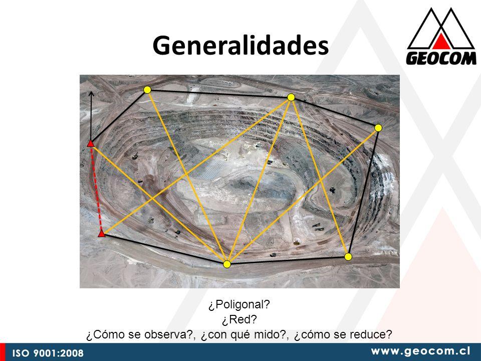 Instrumentación $ Estación Total Mecánica Estación Total Servoasistida Funcionalidad Estación Total Robótica Estación Total Autolock GNSS GPS Mayor funcionalidad significa optimizar el trabajo en terreno, no siempre mayor precisión