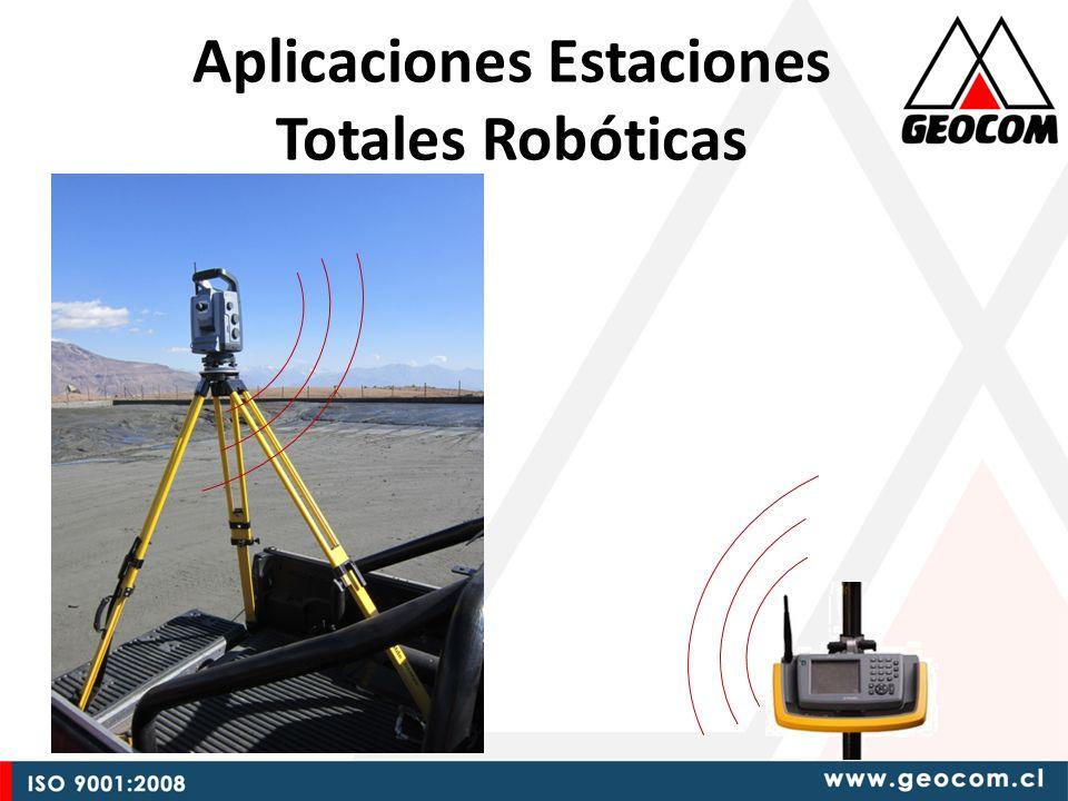 Aplicaciones Estaciones Totales Robóticas