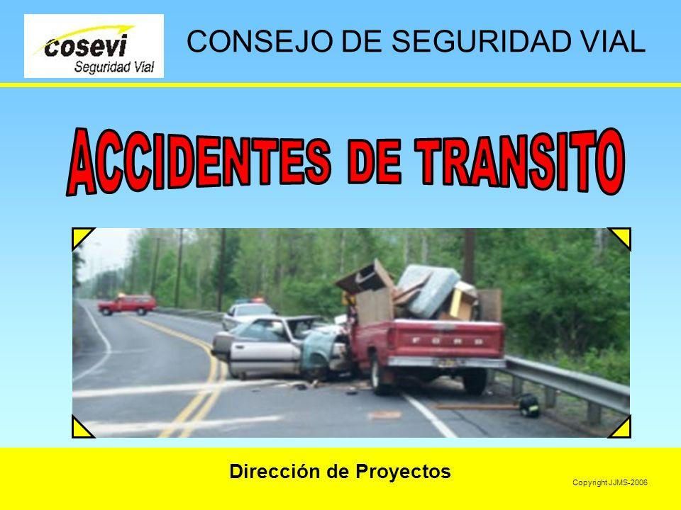 Dirección de Proyectos CONSEJO DE SEGURIDAD VIAL Copyright JJMS-2006