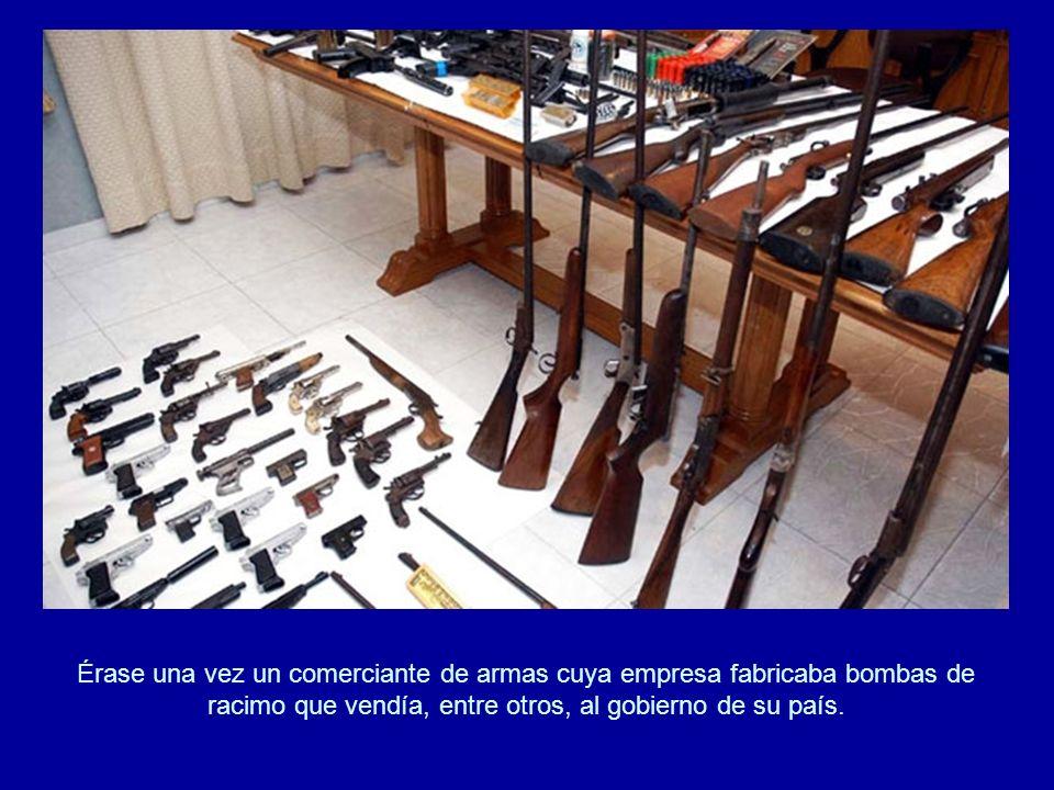 por la prohibición del uso, almacenamiento y fabricación de las bombas de racimo en España como consecuencia de la firma del Tratado de Dublín.