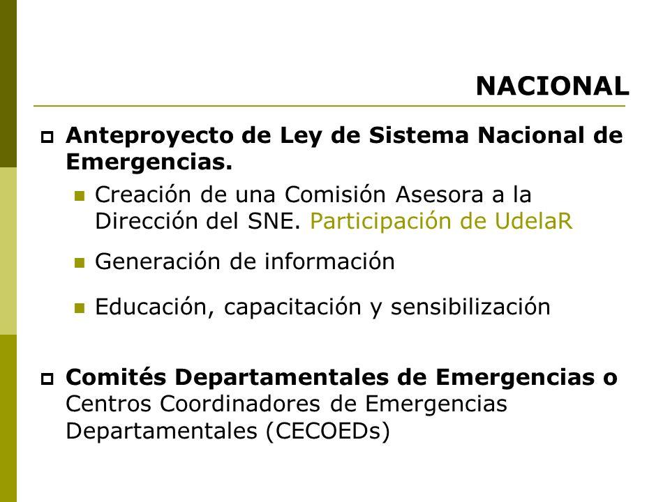NACIONAL Ley General de Educación- 2008. Art.42. Numeral 2.