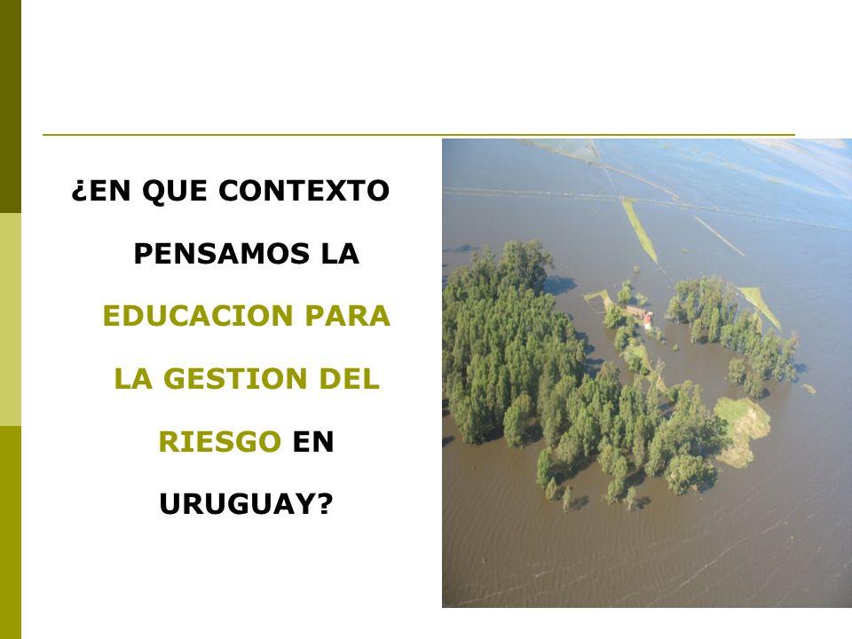 EDUCACION, CAPACITACION SENSIBILIZACION CONSTRUCCION COLECTIVA DE UNA CULTURA DE PREVENCION