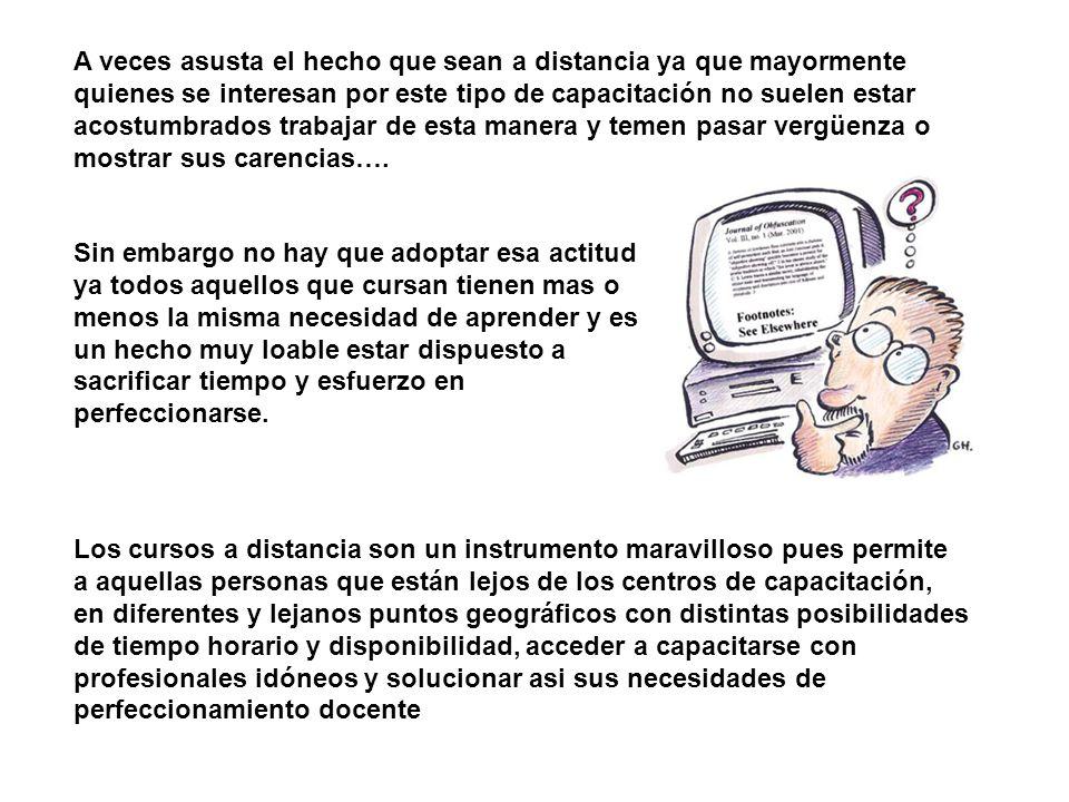 1)LA COMPUTADORA COMO HERRAMIENTA EDUCATIVA EN EL NIVEL INICIAL 2) PRODUCCION DE MATERIAL DIDACTICO INFORMATICO CON CLIC Los cursos son: