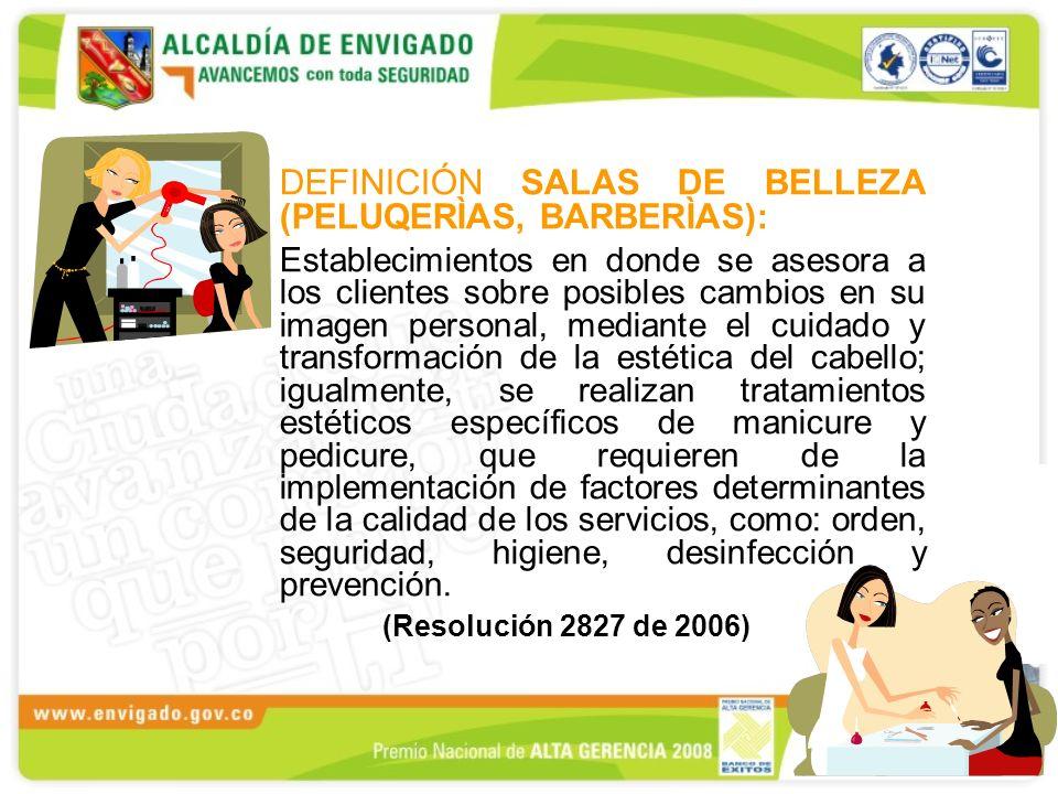 NORMATIVIDAD VIGENTE LEY 711 DE 2001 Reglamenta el ejercicio de la ocupación de la cosmetología RES.