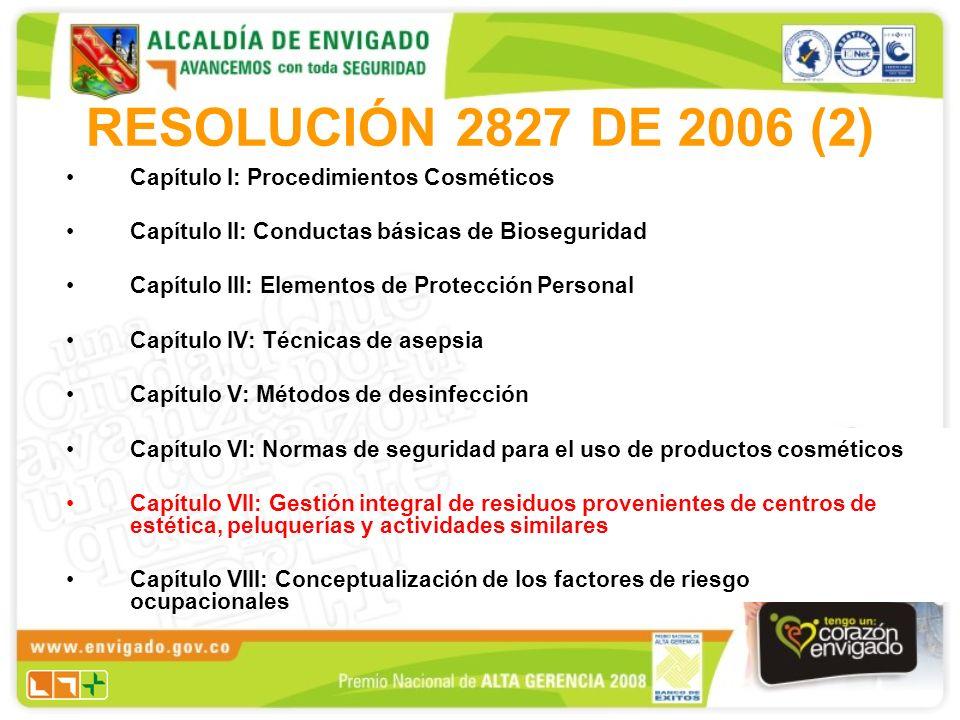1.Separación: Todos los residuos sólidos generados deben ser previamente separados y clasificados dentro del manejo integral de residuos sólidos.