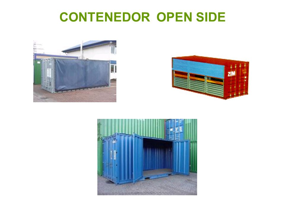 CONTENEDOR OPEN SIDE