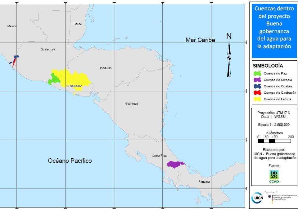 Unión Internacional para la Conservación de la Naturaleza Bajo Yorkín Amenazas -Años de precipitaciones extremas -Variabilidad climática impredecible -Agricultura sobre fuertes pendientes -Deforestación en Alto Yorkín (ganadería)