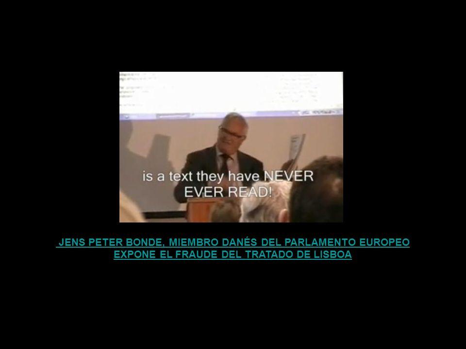 NIGEL EXPONE EL FRAUDE DEL TRATADO Y A SUS PERPETUADORES ACADÉMICOS