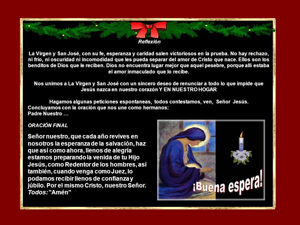 CUARTO DOMINGO Todos hacen la señal de la cruz.