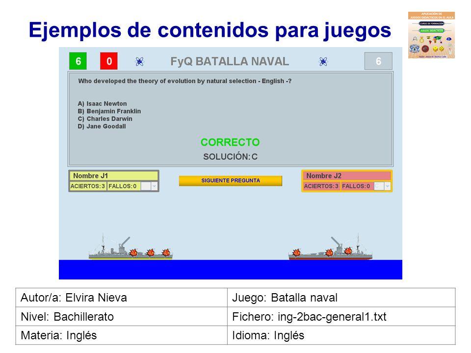 Ejemplos de contenidos para juegos Autor/a: Marta JiménezJuego: Carrera Nivel: Ciclo formativoFichero: far-2cfm-almacen1.txt Materia: AlmacenIdioma: C
