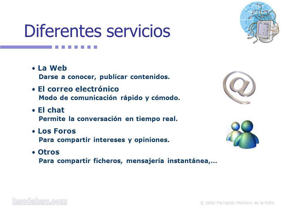 © 2005 Fernando Montero de la Peña Chat y otros servicios (4) La madre de Eduardo.
