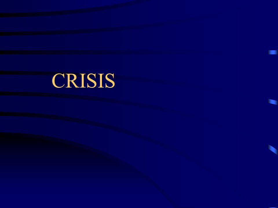 CRISIS = OPORTUNIDAD