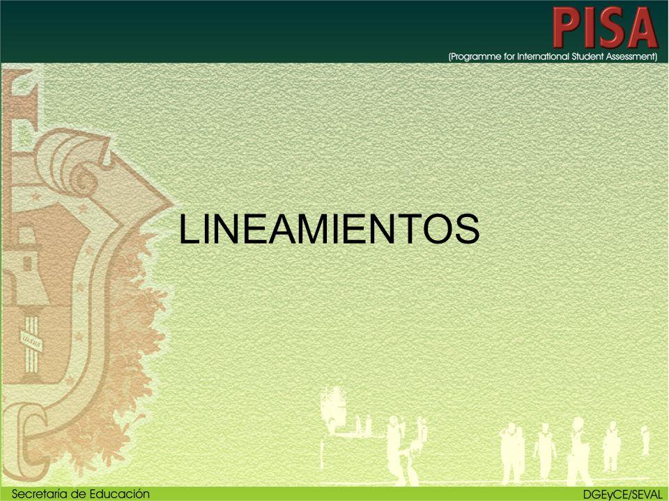 LINEAMIENTOS