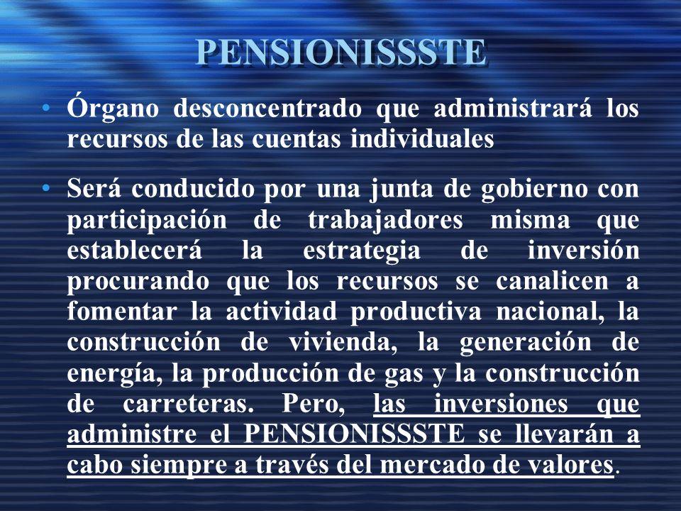 De la pensión garantizada, el Estado asegura el monto mensual de un salario mínimo general para el DF actualizado anualmente de acuerdo al Índice Nacional de Precios.