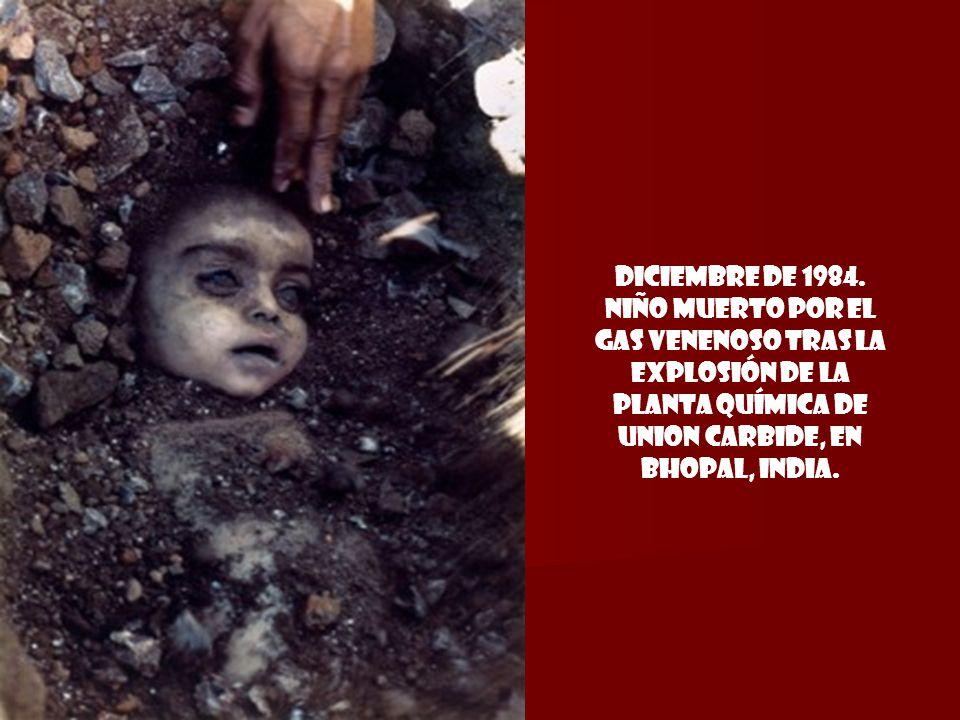 30 de octubre de 1983. Kezban Özer encuentra los cadáveres de sus 5 hijos tras quedar enterrados vivos por un devastador terremoto en Koyunoren, al es