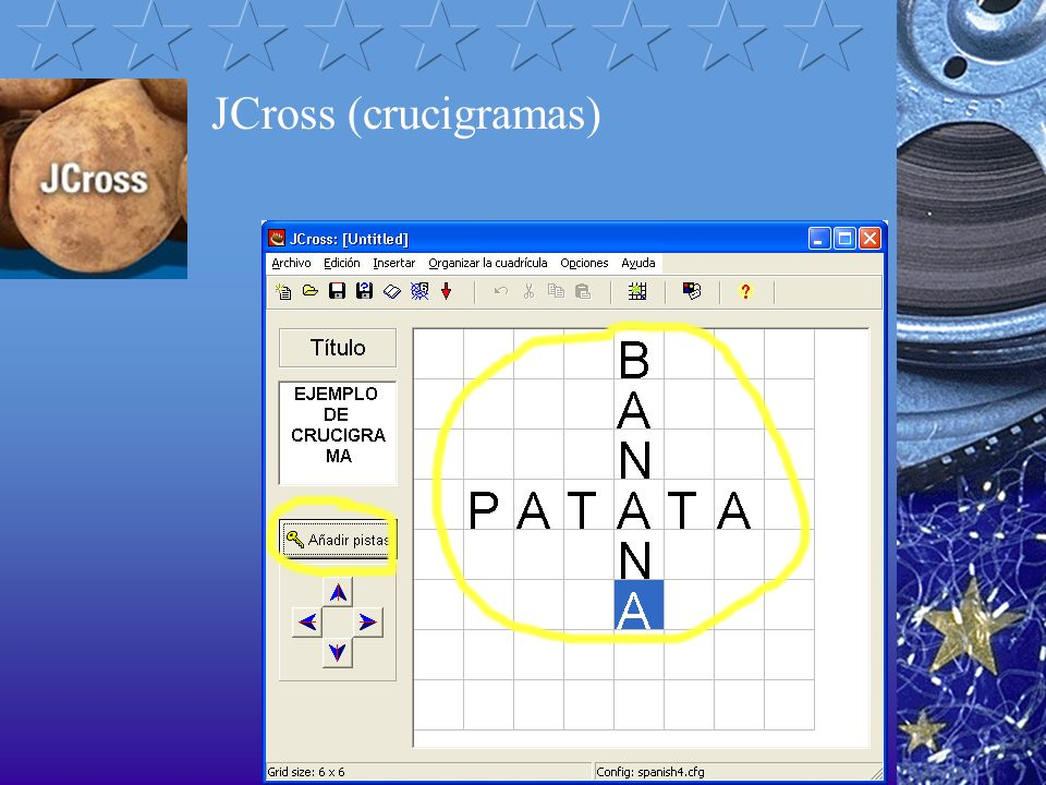 JCross (crucigramas)