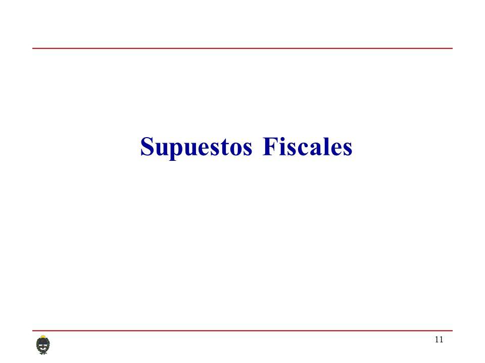 11 Supuestos Fiscales