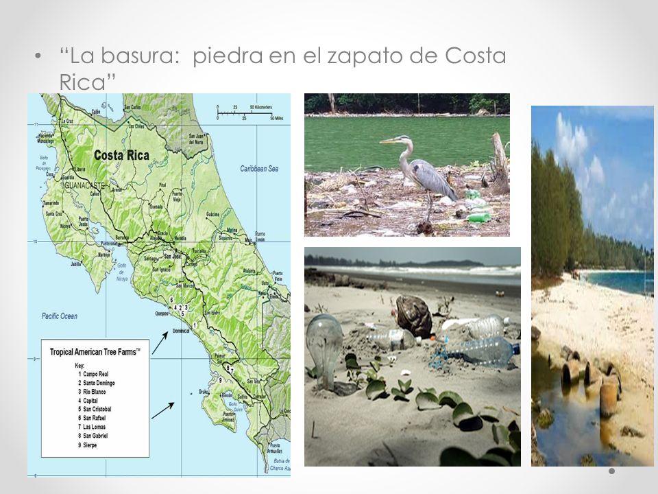 La basura: piedra en el zapato de Costa Rica