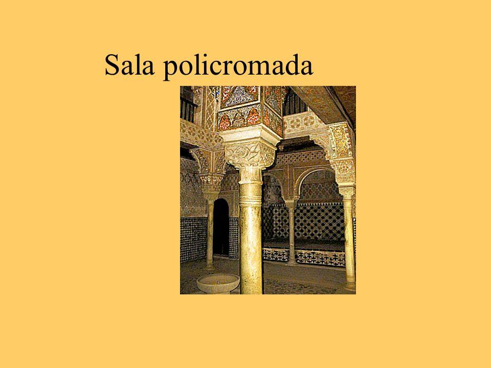 Sala policromada