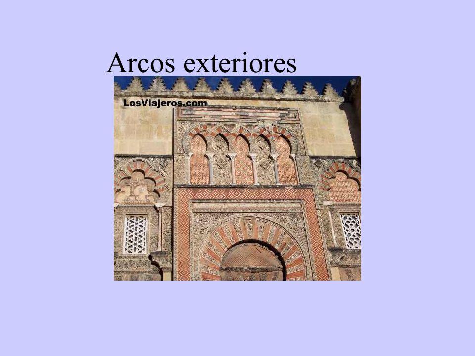 Arcos exteriores
