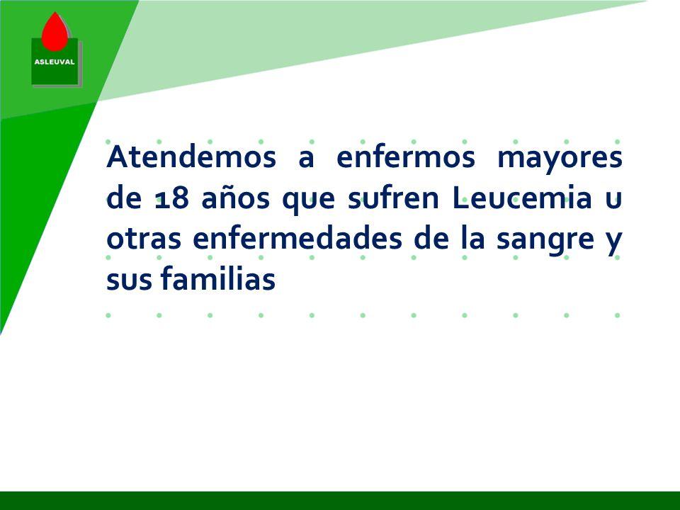 En 1995 se creo el Piso de Acogida para enfermos y familiares de otras comunidades fuera de Valencia. Valencia no dispone de recursos para afrontar es