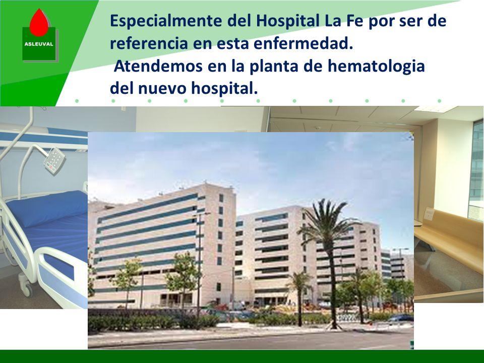 Las demandas nos llegan de todos los hospitales de Valencia