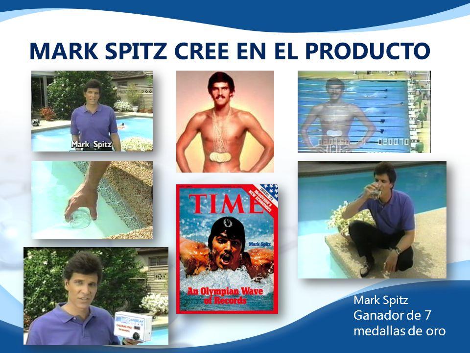 MARK SPITZ CREE EN EL PRODUCTO Mark Spitz Ganador de 7 medallas de oro