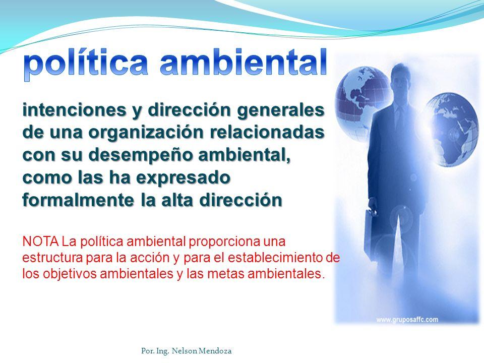 EJEMPLO 1...Política Ambiental. Uso racional de los recursos naturales.