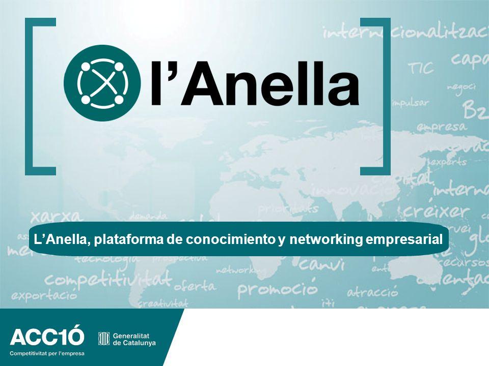 La nova Anella dACC1Ó www.acc10.cat 1 LAnella, plataforma de conocimiento y networking empresarial