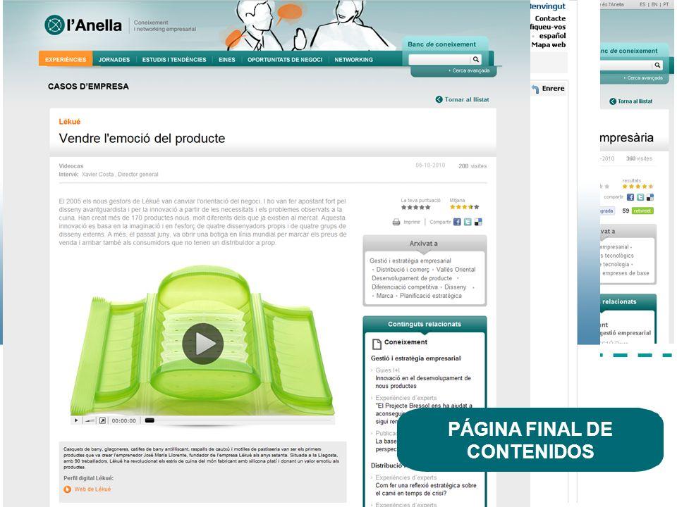 La nova Anella dACC1Ó www.acc10.cat 10 Colaboración Conocimiento estratégico Oportunidades de negocio A través de la Comunidad América Latina, los usuarios tienen acceso a información, conocimiento y networking específicos para hacer negocios en América Latina.