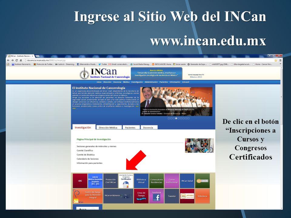 En la nueva ventana encontrará los nombre de los eventos realizados Seleccione el titulo del curso y de clic en el botón Obtener certificado