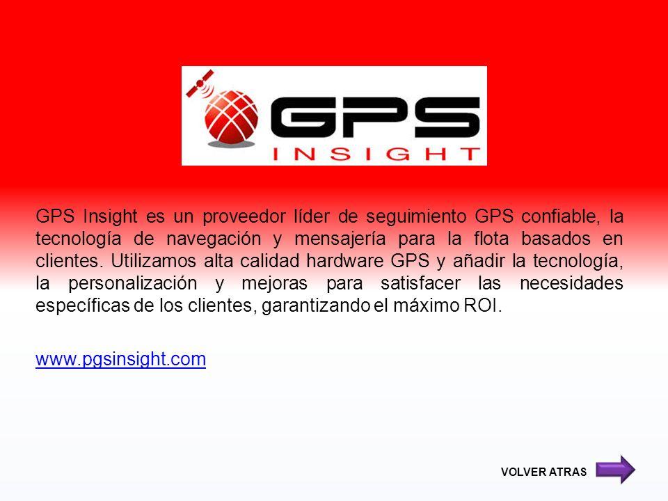 GPS Insight es un proveedor líder de seguimiento GPS confiable, la tecnología de navegación y mensajería para la flota basados en clientes. Utilizamos