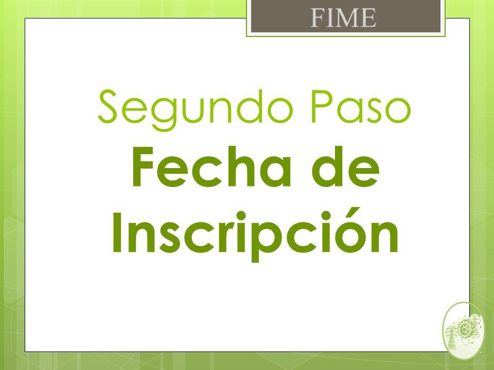 Una vez efectuado el pago de cuota interna, revisar en la parte inferior del recibo (Observaciones) la fecha y hora en la cual se ingresara al SIASE para realizar tu Inscripción.