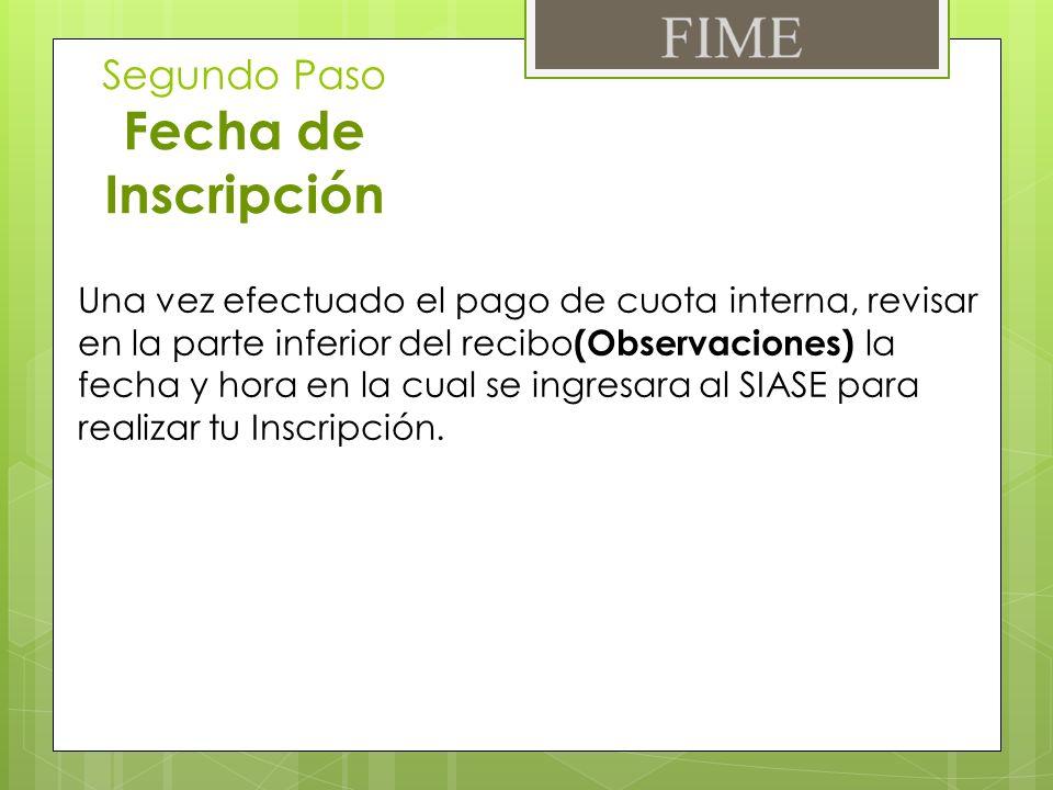 Gracias Servicios Escolares FIME UANL