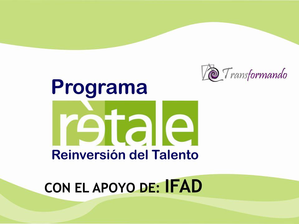CON EL APOYO DE: IFAD