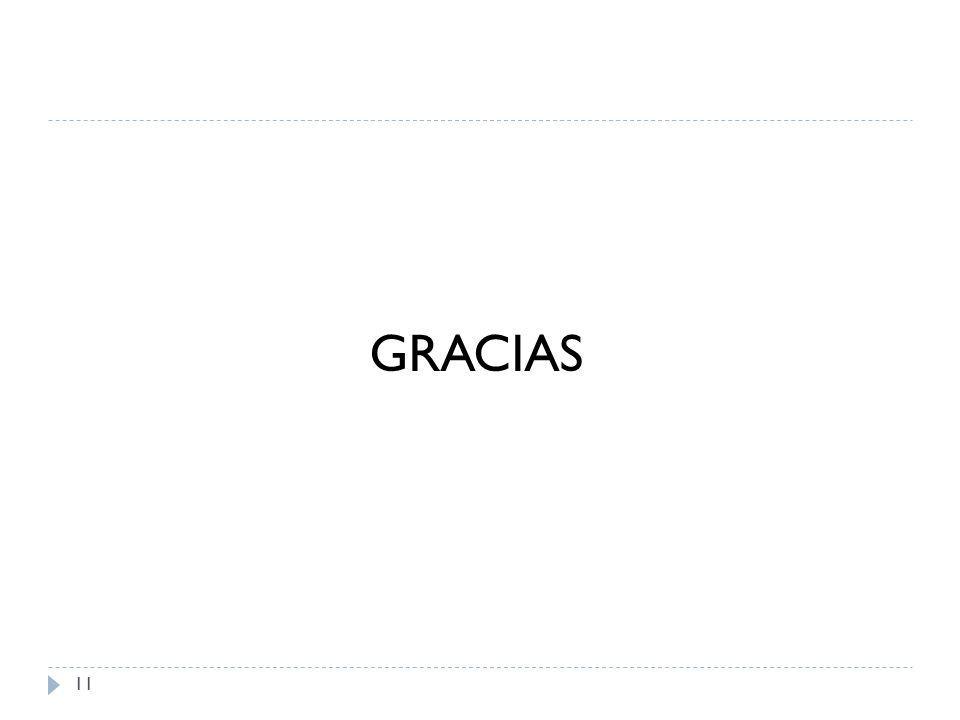 11 GRACIAS