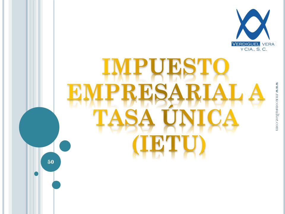 50 www.mxconsultor.com