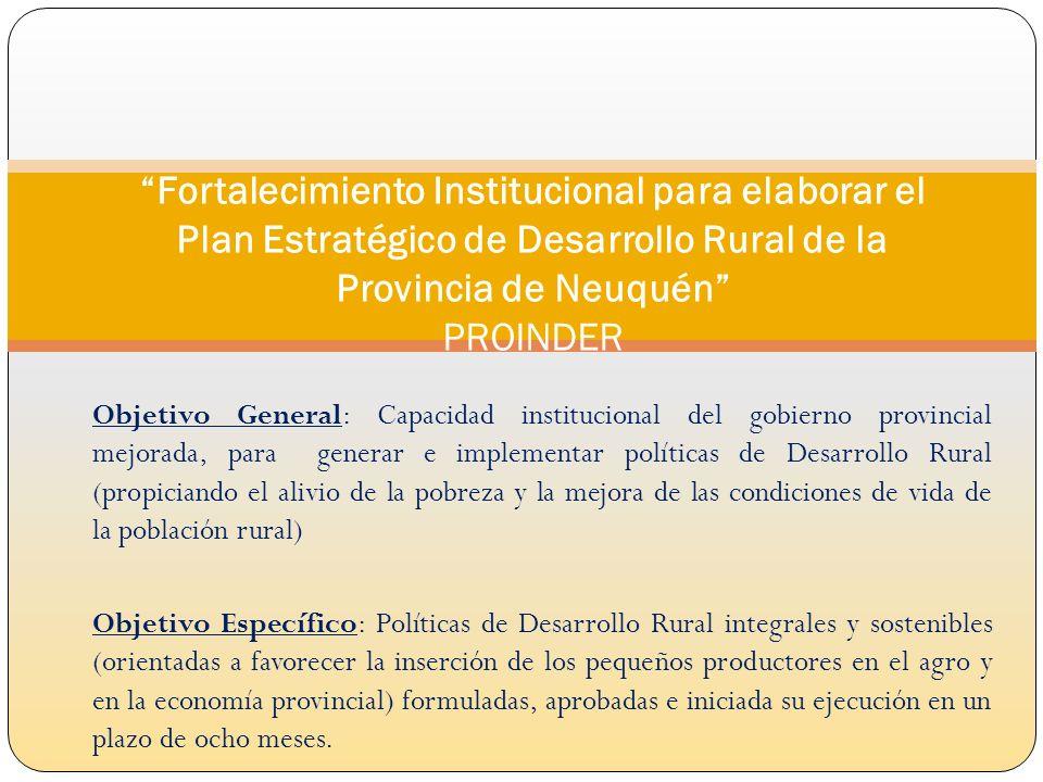 1.1 Resultado esperado: Área de Desarrollo Rural- ADR- fortalecida con personal capacitado y proyectos formulados para generar y aplicar la política de Desarrollo Rural Curso de capacitación en Planificación Estratégica, Formulación, Ejecución y Evaluación de Proyectos según EML y Planes Operativos Anuales (POA).