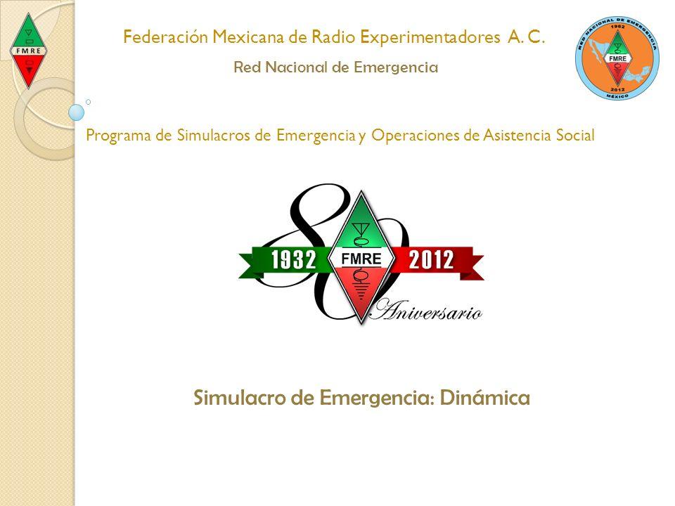 Dinámica Para Estaciones Generadoras Para Estaciones Receptoras Para Estaciones Portadoras Federación Mexicana de Radio Experimentadores A.