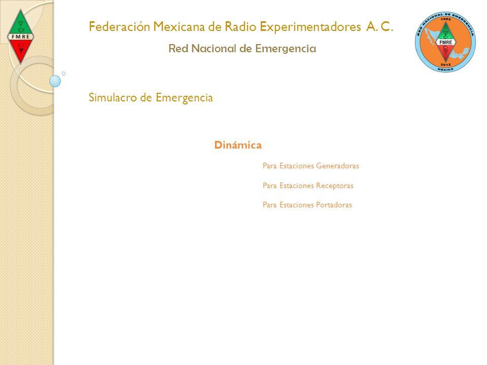 Federación Mexicana de Radio Experimentadores A.C.