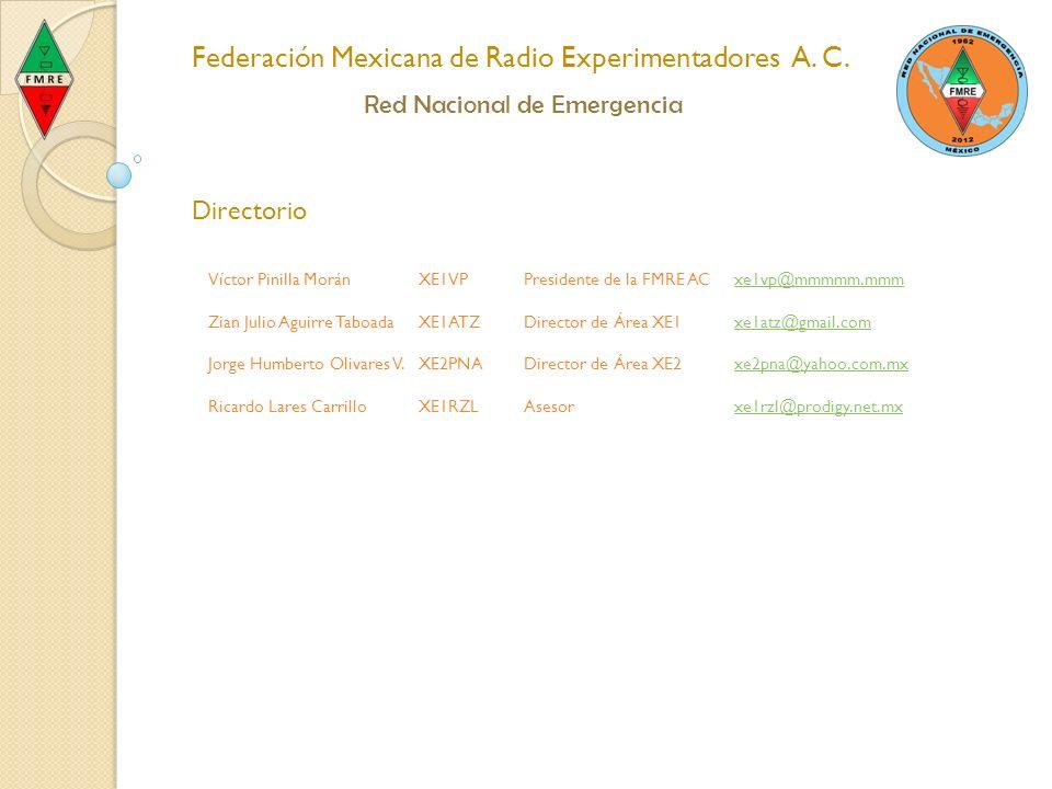 Federación Mexicana de Radio Experimentadores A. C.
