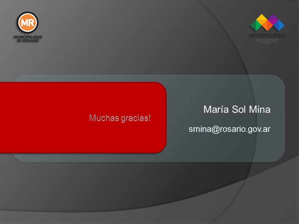 María Sol Mina smina@rosario.gov.ar