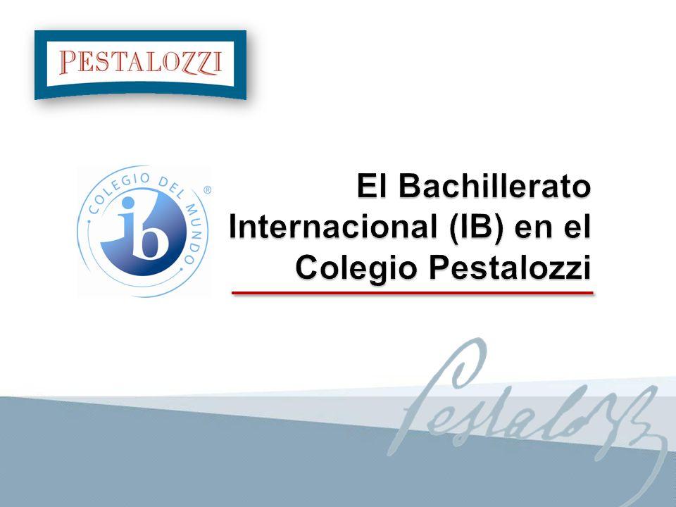 El Bachillerato Internacional (IB) es una fundación educativa con sede legal en Suiza, sede pedagógica en Cardiff y tres centros regionales (América - África, Europa y Oriente Medio - Asia Pacífico).