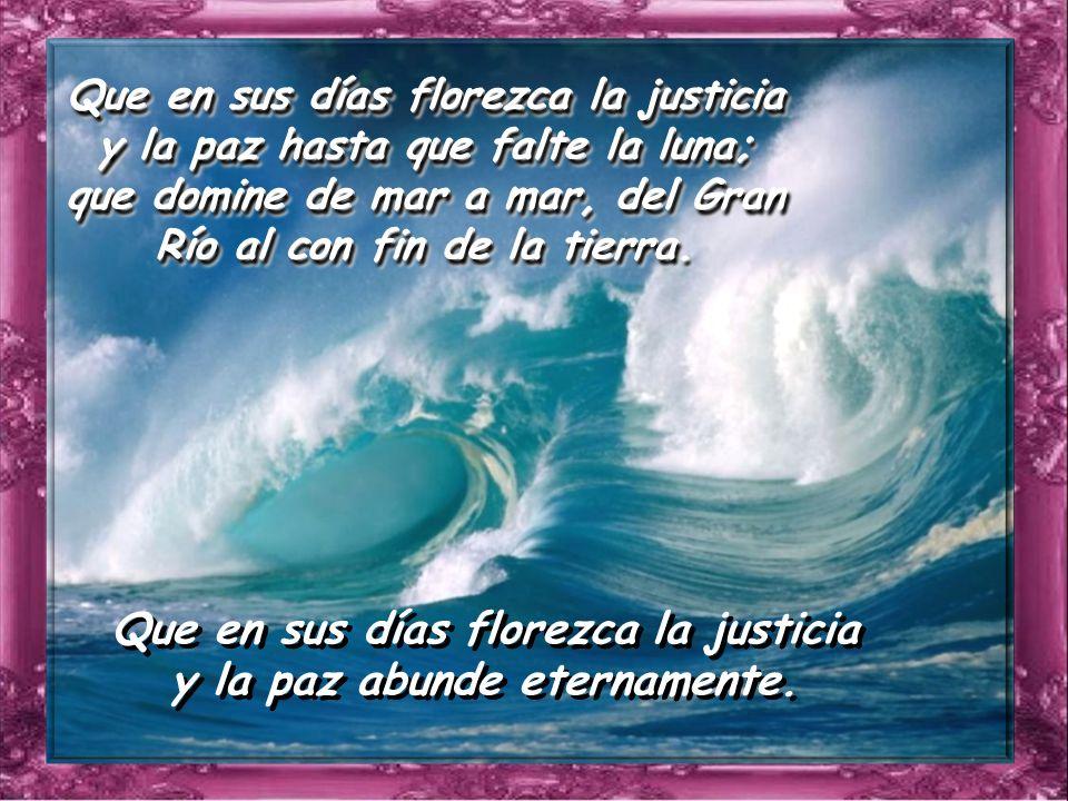 Salmo 71 Salmo 71 Dios mío, confía tu juicio al rey, tu justicia al hijo de reyes, para que rija a tu pueblo con justicia, a tus humildes con rectitud.