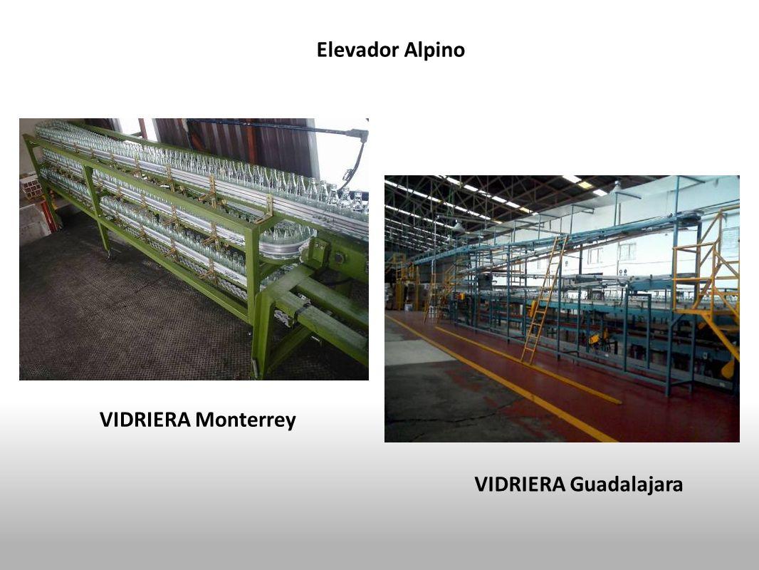 VIDRIERA Guadalajara Elevador Alpino