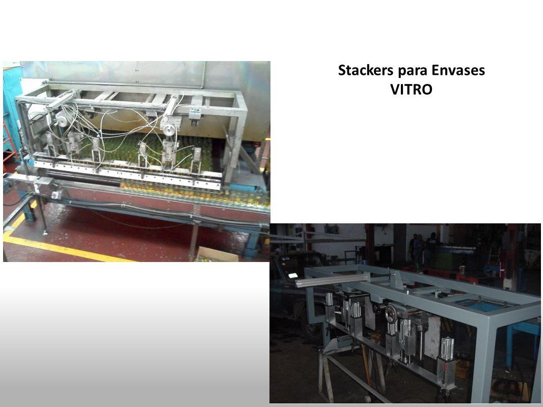 Stackers para Envases VITRO