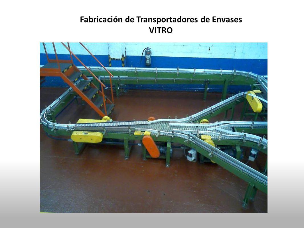 Fabricación de Transportadores de Envases VITRO